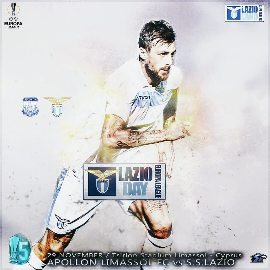 Our #MatchDay Preview is here !  A must win game to take us to the Top of Group H  Let's Win This 💪  #ForzaLazio 🦅  #ApollonLazio #PresenteForYou #UEL #LazioDay #LazioLand #StartingXI #SSLazio #LazioIsOnFire #SSlazioFans #StartingXI#Acerbi #Europa #EuropaLeague