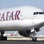 Image for the Tweet beginning: Qatar Airways is the first