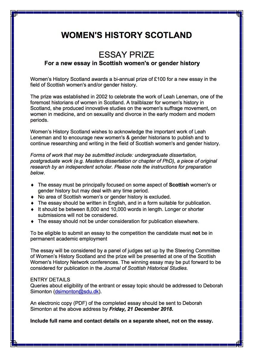 history of medicine essay prize