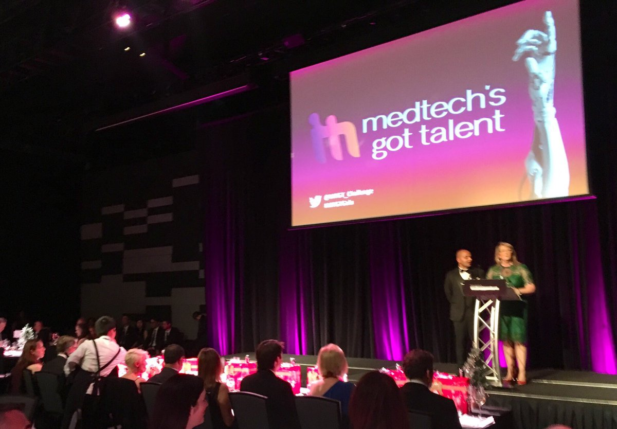 Such an excellent evening!! Strongly recommend anyone with a novel startup idea get involved, map your budget, your milestones, your timeline, then develop a pitch and put your idea and yourself out there with the @MTGT_Challenge!! Thanks again @MTPConnect_AUS #MTGTGala #medtech