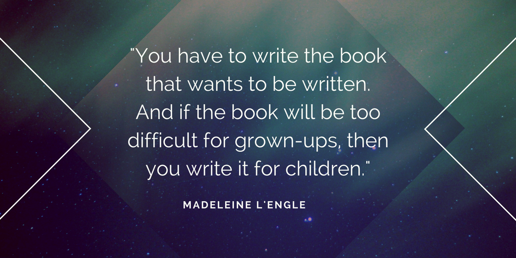 Happy 100th Birthday to Madeleine LEngle! Discover four timeless writing tips from this iconic author: buff.ly/2Q41gF2 #MadeleineLEngle #WrinkleInTime #Happybirthday #100years @Kerrie_Flanagan