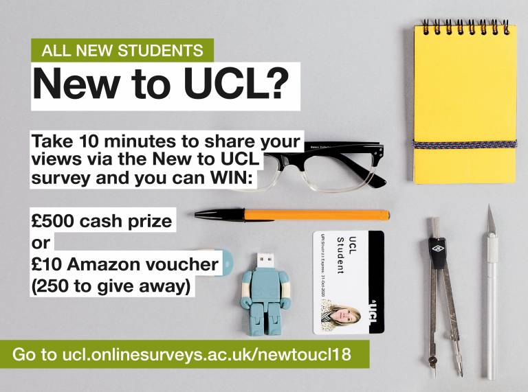 What Can New Voucher Studies Tell Us >> Ucl On Twitter If You Re A New Ucl Student Undergraduate Or
