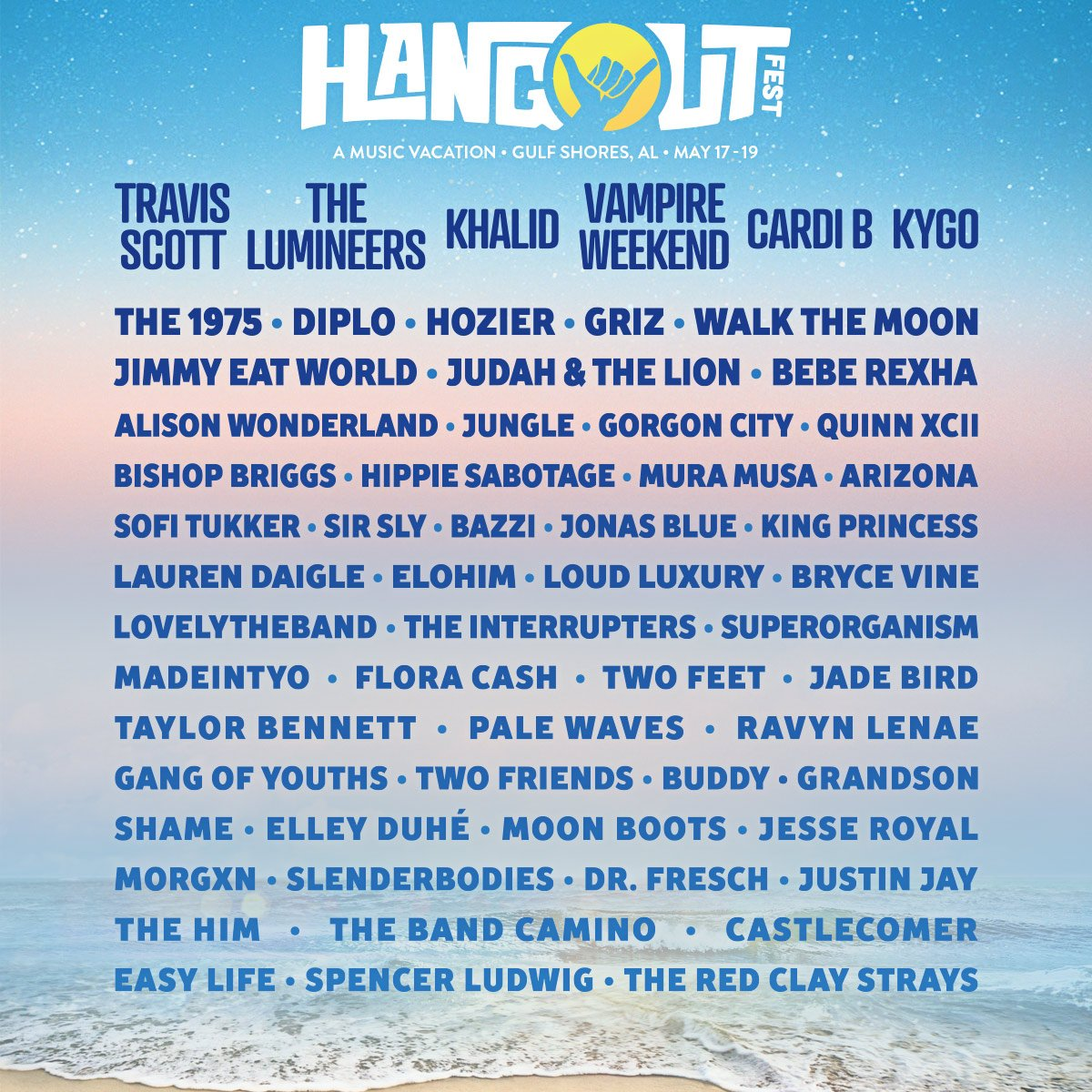 Hangout Music Festival 2020.Hangout Music Fest On Twitter Let S Go Back To The Beach