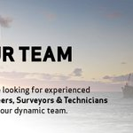 Image for the Tweet beginning: We're looking for engineers, surveyors