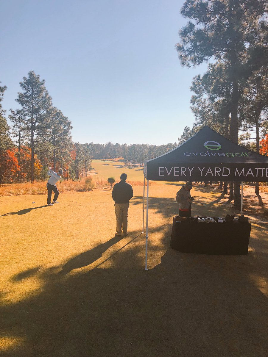 Grip it and rip it: Final day for our team onsite @CarolinasPGA Pro-Pro in beautiful Pinehurst, NC. #EveryYardMatters