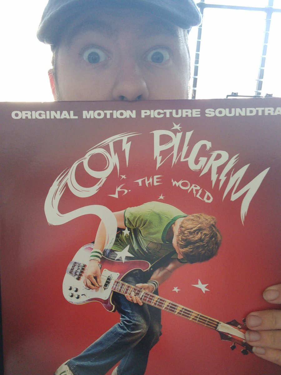 @BuddyGoodboyEsq Well I know what Im doing this morning #scottpilgrim #edgarwright #beck