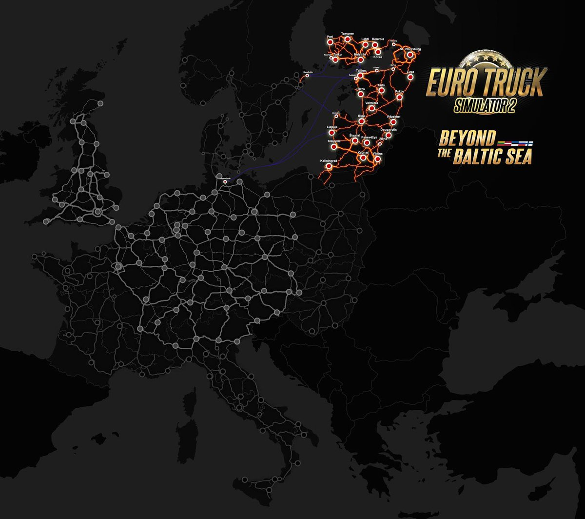 Scs Software On Twitter The Beyond The Baltic Sea Dlc For Euro