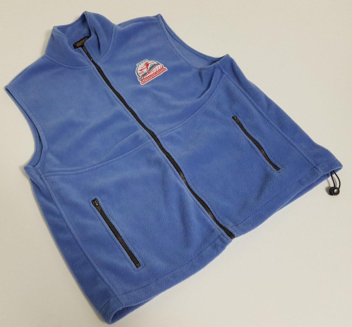Treasures By Brenda On Twitter World Figure Skating Championships Fleece Vest From 2006 ISU Calgary Canada Size Large Tco KWzUyV25dl