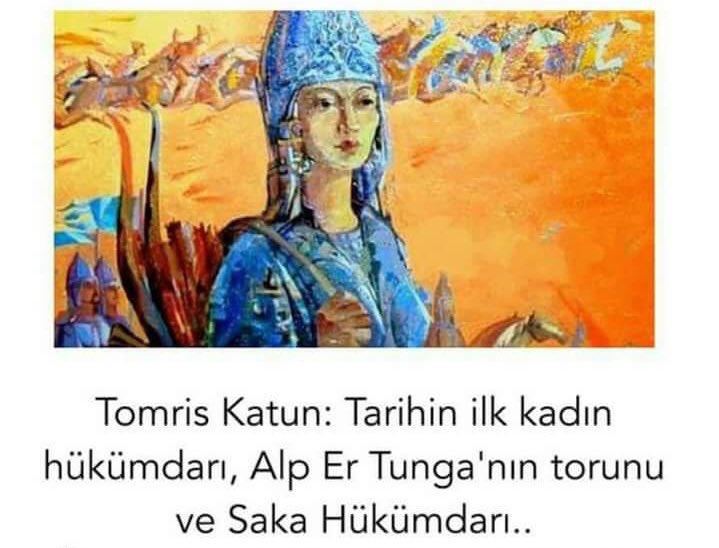 TOMRİS : M.Ö. 7. yy da yaşayan ilk Türk kadın hükümdar. Saka Türklerinin kadın hükümdarı, kahramanlıklarıyla destanlaşmış Tomris Hatun'u anlatan film, Kazakistan'da mart 2019 da gösterime girecek. Bu filmin Türkiye'de de gösterime girmesini istiyoruz. #TomrisTürkiye