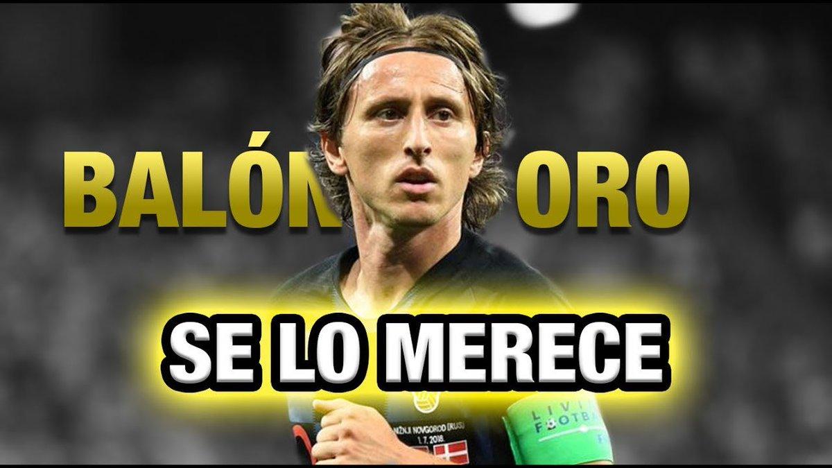¿Quieres que gane el balón de oro Luka Modric?  RT: SI   ME GUSTA: NO  #UCL @Nissan_ESP