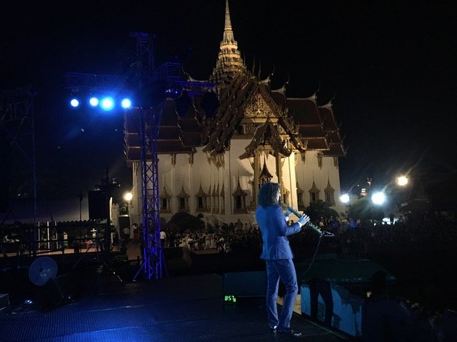 #TBT to performing in Bangkok just a few weeks ago! What an incredible view!!
