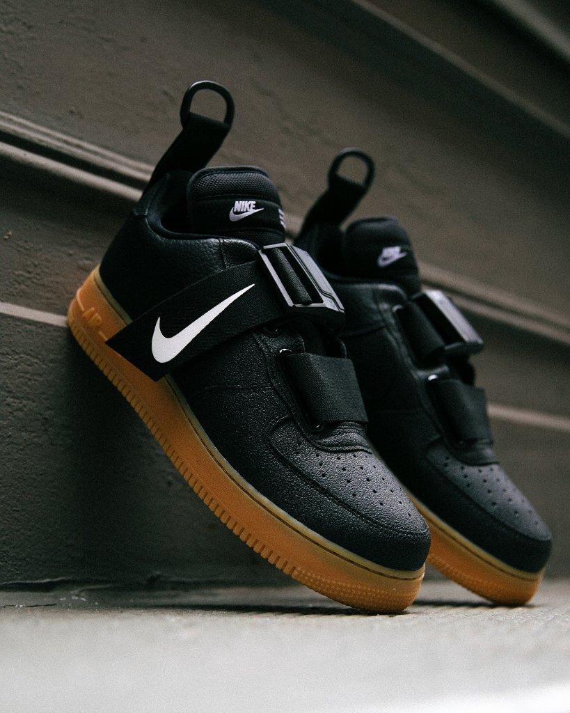Lockdown. #Nike Air Force 1 Utility