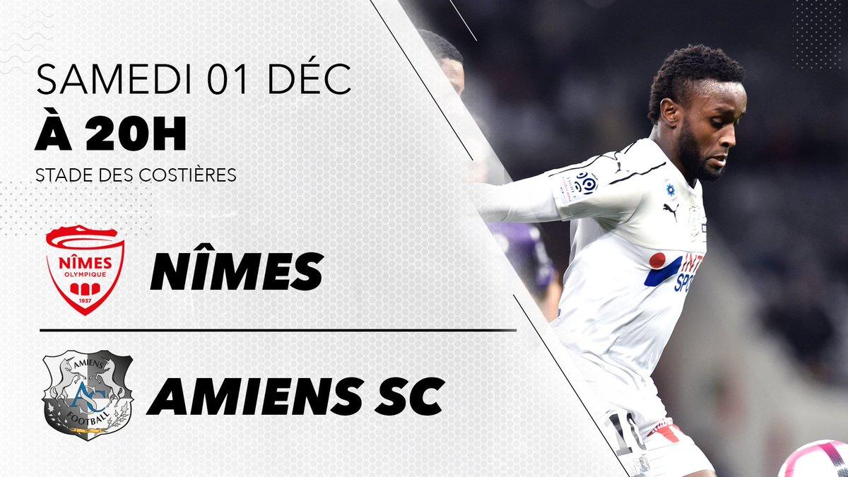 DtLheVvXcAEi7sF - Nîmes - Amiens SC Streaming  : Où regarder le match ?