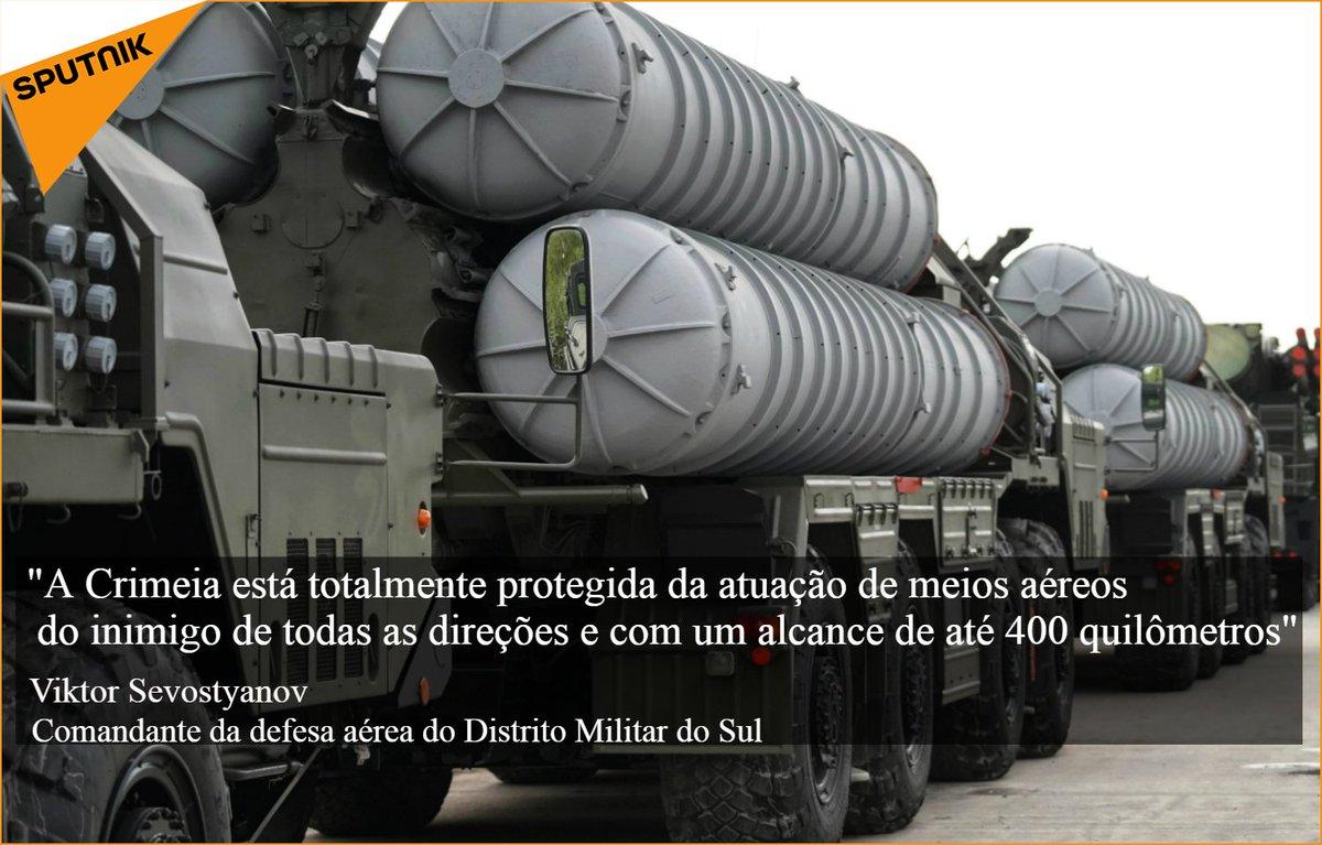 De acordo com o tenente-general russo, a península está seguramente protegida contra ameaças aéreas desde todas as direções #CitaçãoDoDia https://t.co/KPeQIyJLkJ