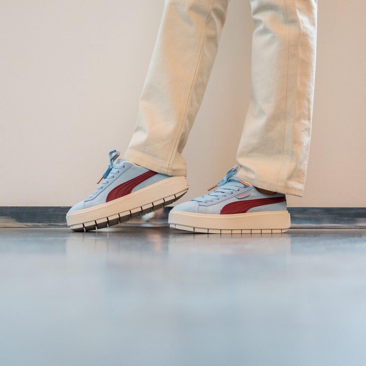 puma platform trace corduroy sneakers