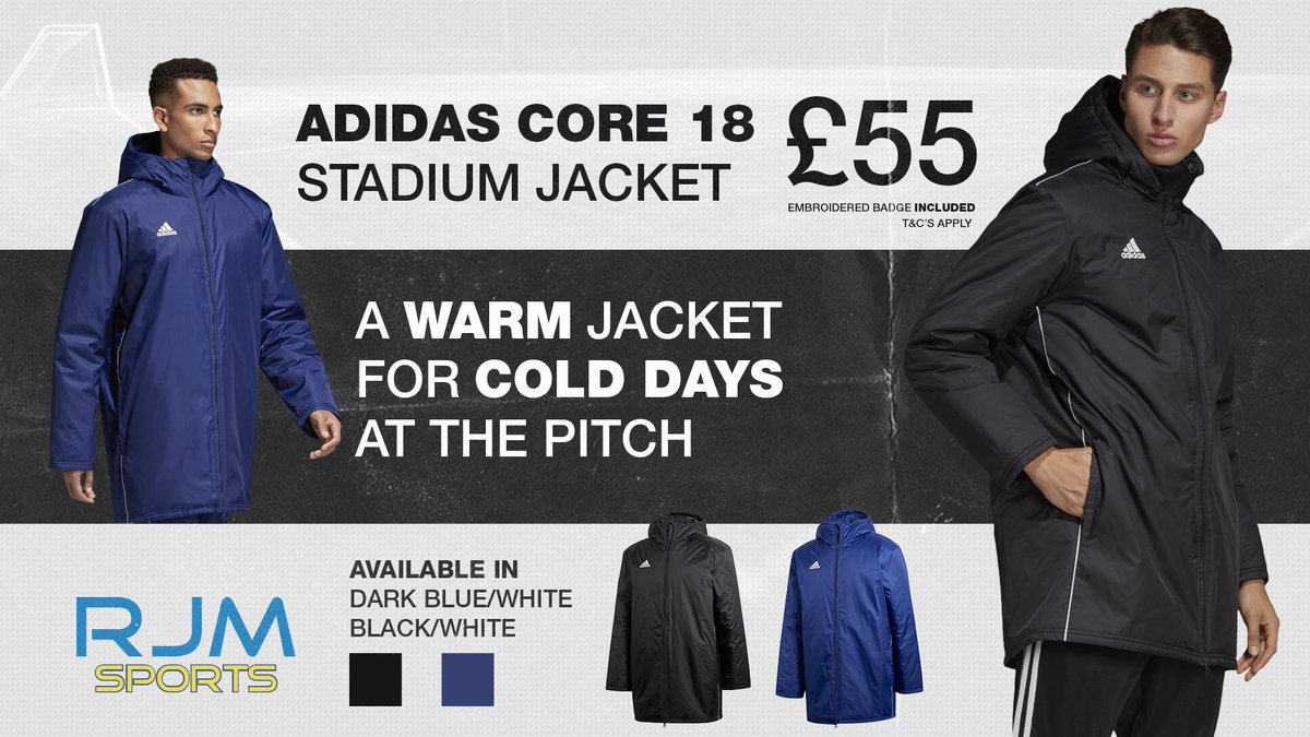 3821e767f86 ... Core 18 Stadium Jacket! Take advantage of our fantastic embellishment  prices and also add your clubs embroidered/printed badge!! ...