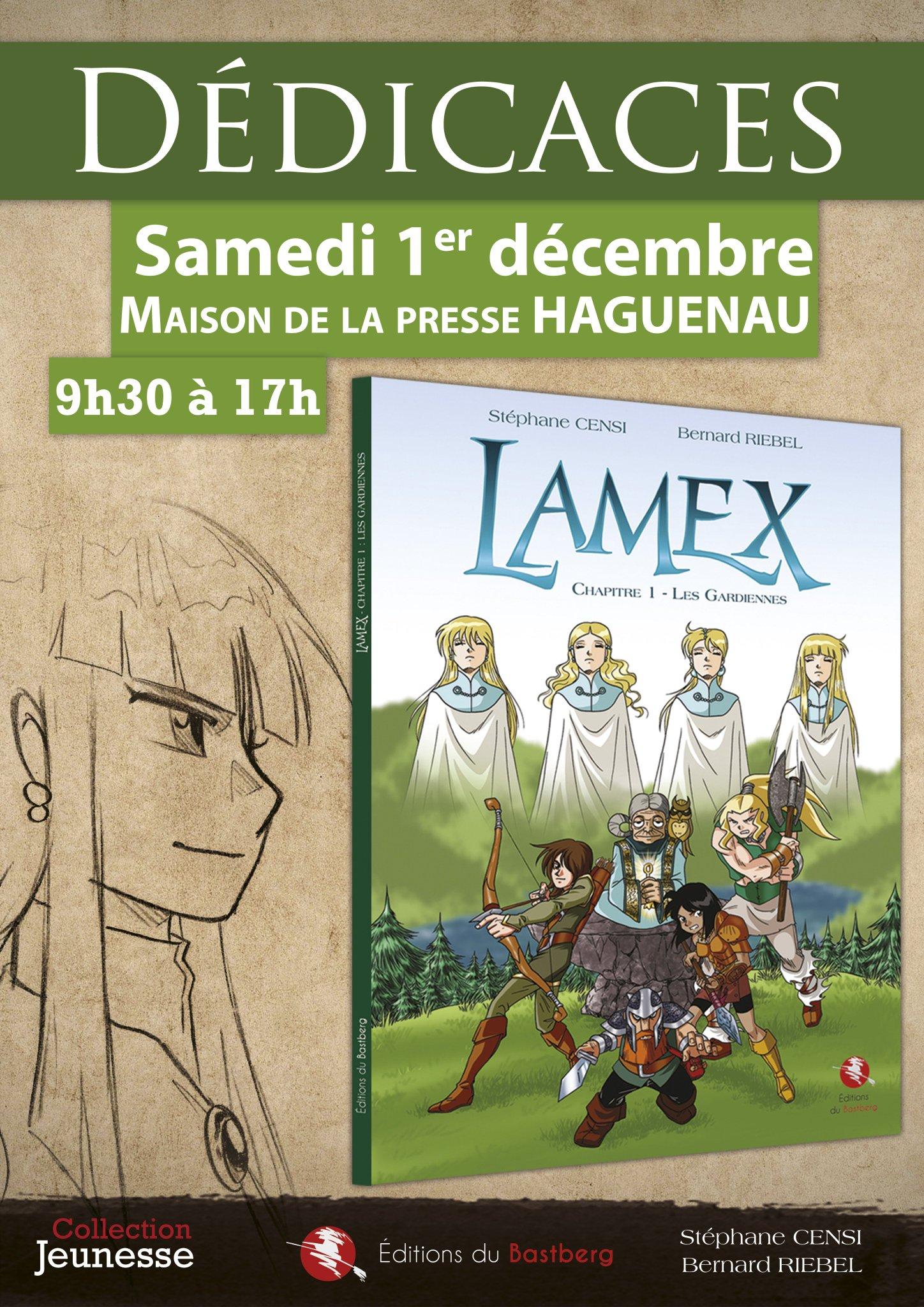 Stephanecensi Art On Twitter Dedicace De Lamex A La Maison De La Presse De Haguenau Le 01 12 18