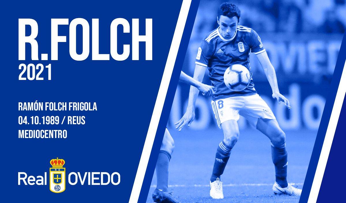 El Real Oviedo anuncia la renovación de Folch (Foto: Real Oviedo).
