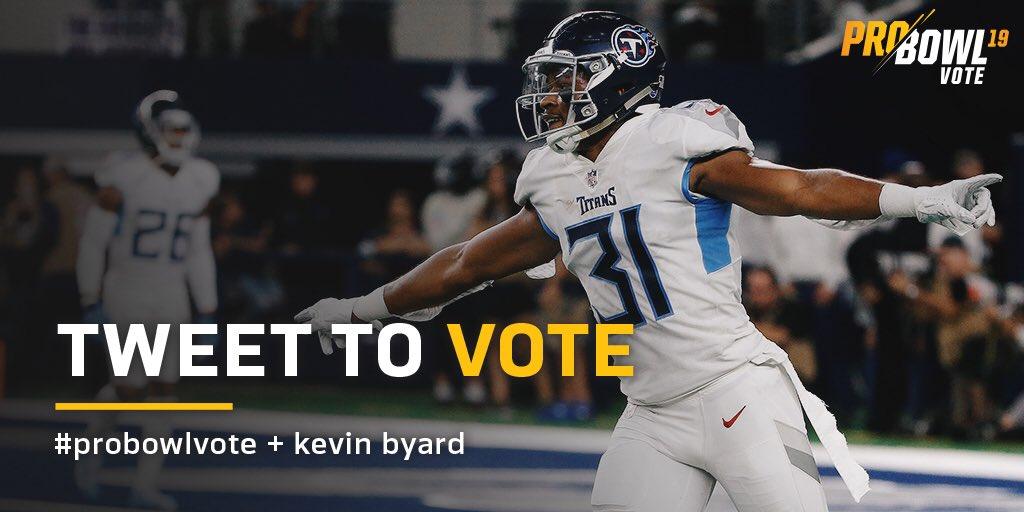 RT @KB31_Era: Every Retweet Is a vote! 🚨#probowlvote Kevin Byard https://t.co/5JeHCNUJUe