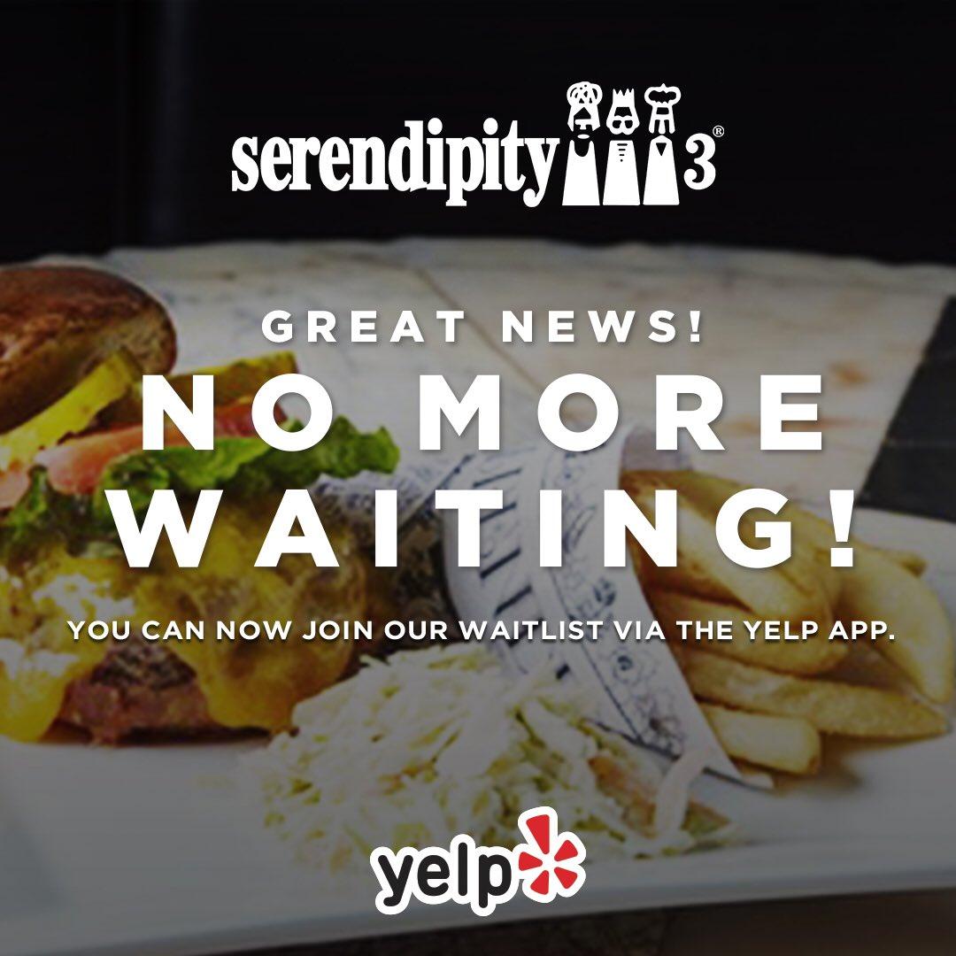Serendipity 3 on Twitter: