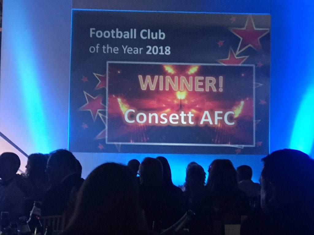 and the Football Club of the year 2018 is.