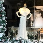 Image for the Tweet beginning: Our festive windows are in
