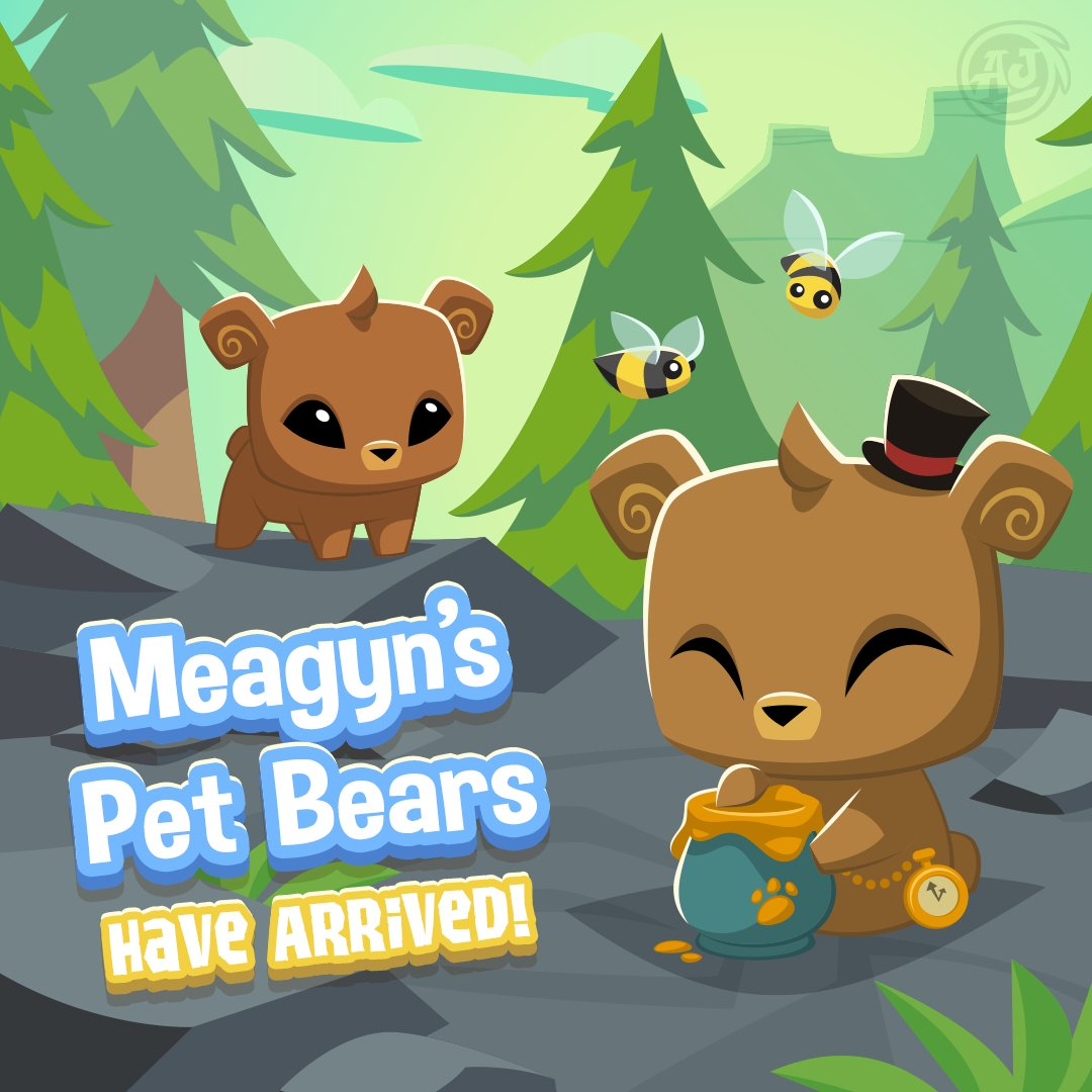 Image of: Wiki Arrived In Both Animal Jam And Play Wild Meagyns Pet Bear Is Too Adorable To Pass Up Get Yours Now In Either Game Or Both Zavvi Animal Jam On Twitter