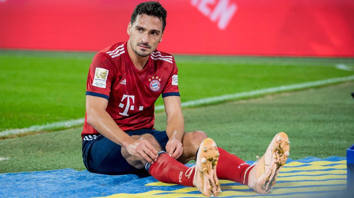 Немецкий футболист hummels