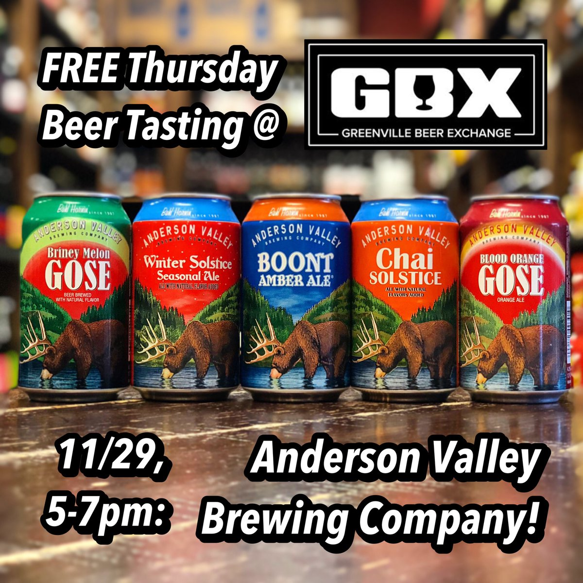 Gvl Beer Exchange On Twitter Tonightthursday 1129 Our Old Pal