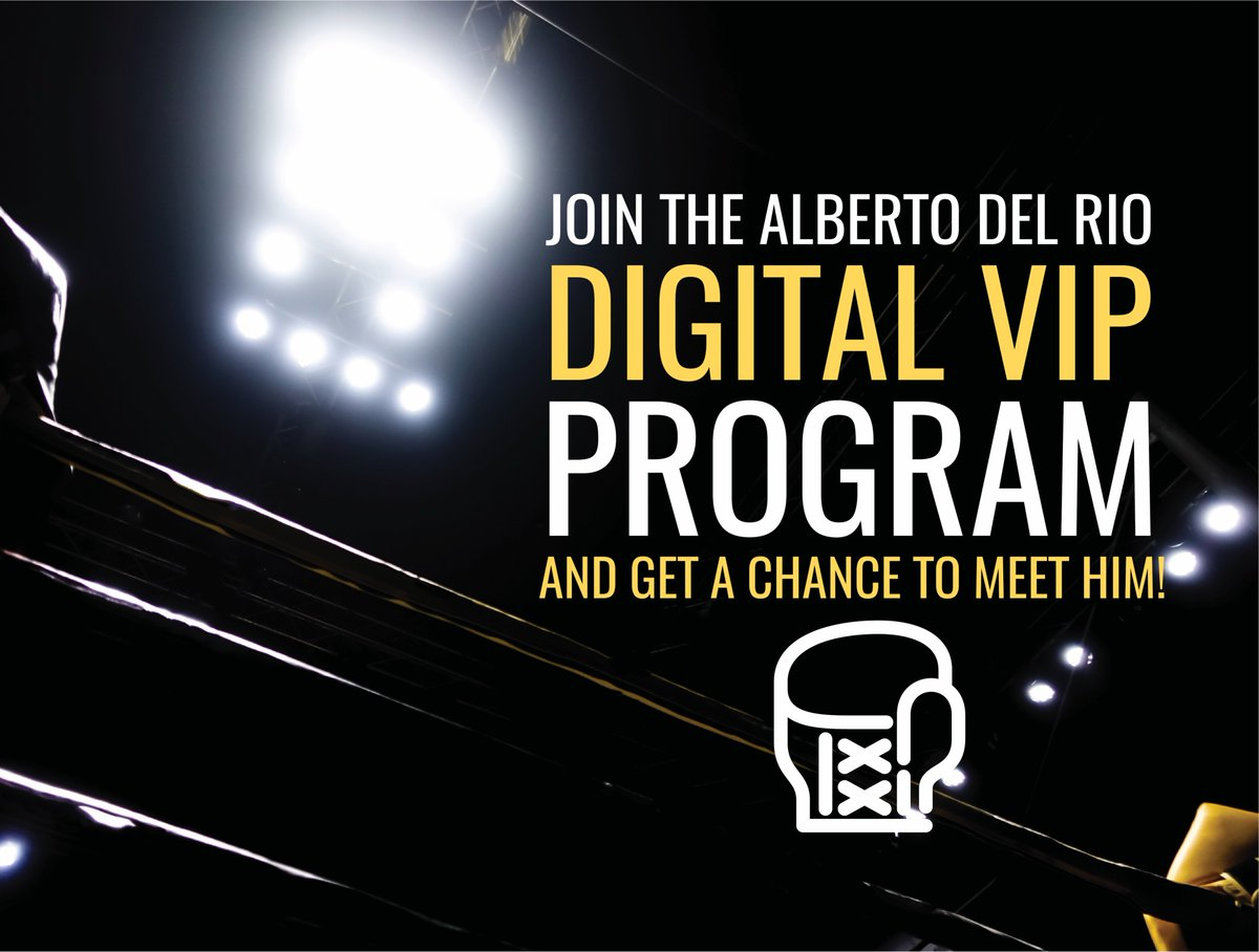 So many people have already joined, will you be next? Sign up for Alberto Del Rios VIP program now for a chance to meet him and tons of other exclusives! celebyou.com/alberto/signup . . . #albertodelrio #prideofmexico #celebyou #combateamericas #fighting #fanlogic #win #contest