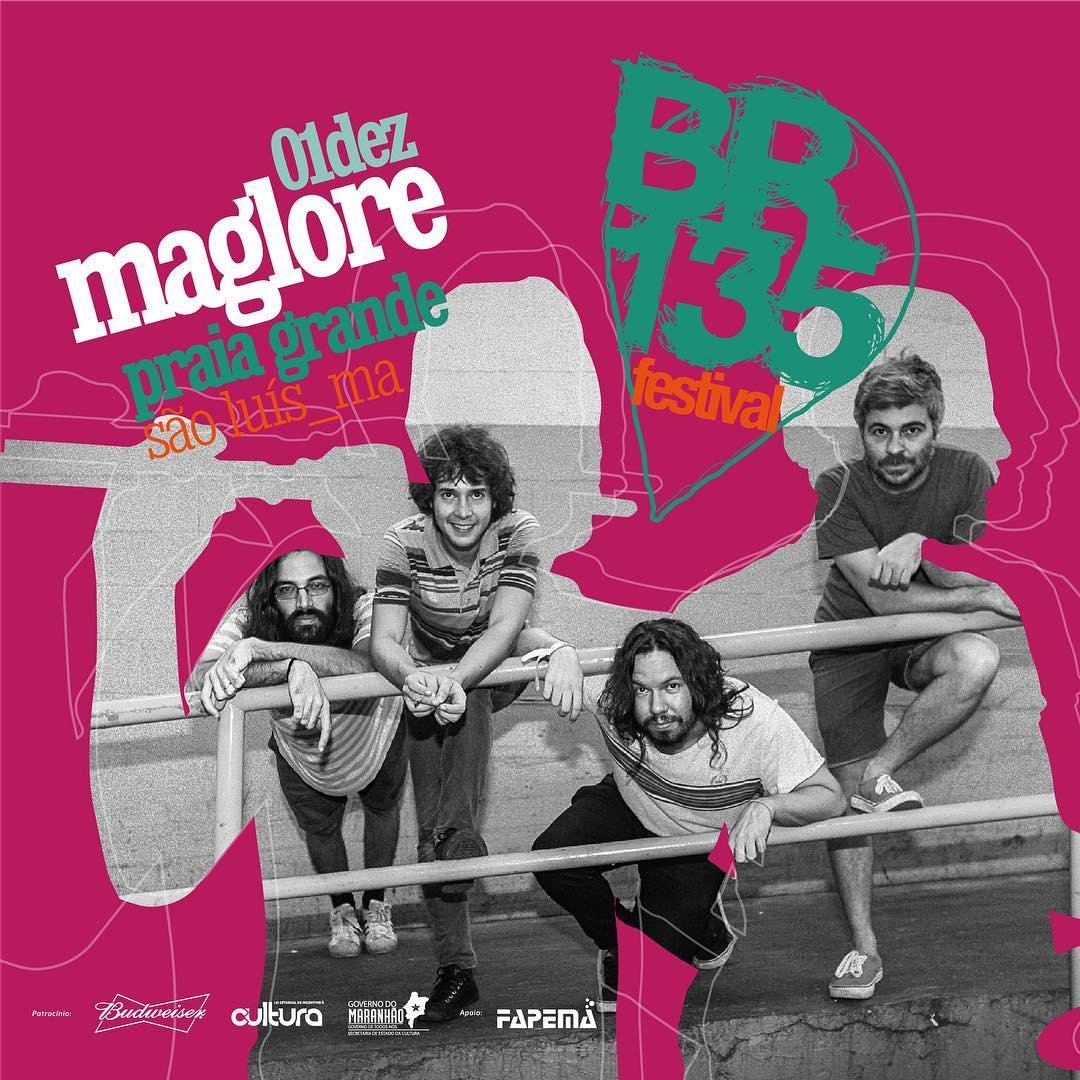 Nesse sabadão, 1 12, tem Maglore por aí, no Festival BR135. Música de tudo  que é disco pra fazer uma festa linda. Cola mais cedo que a programação tá  mara ... 77de15cf6b
