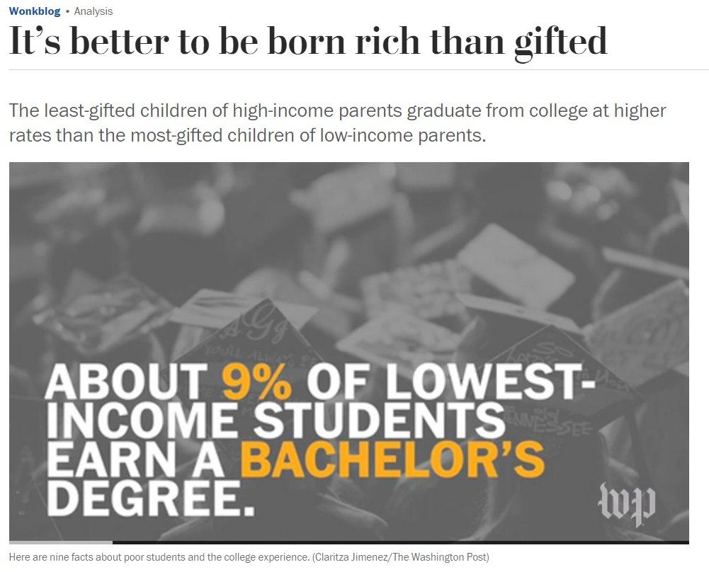 Its Better To Be Born Rich Than Gifted >> The G Word Documentary On Twitter The Least Gifted Children Of