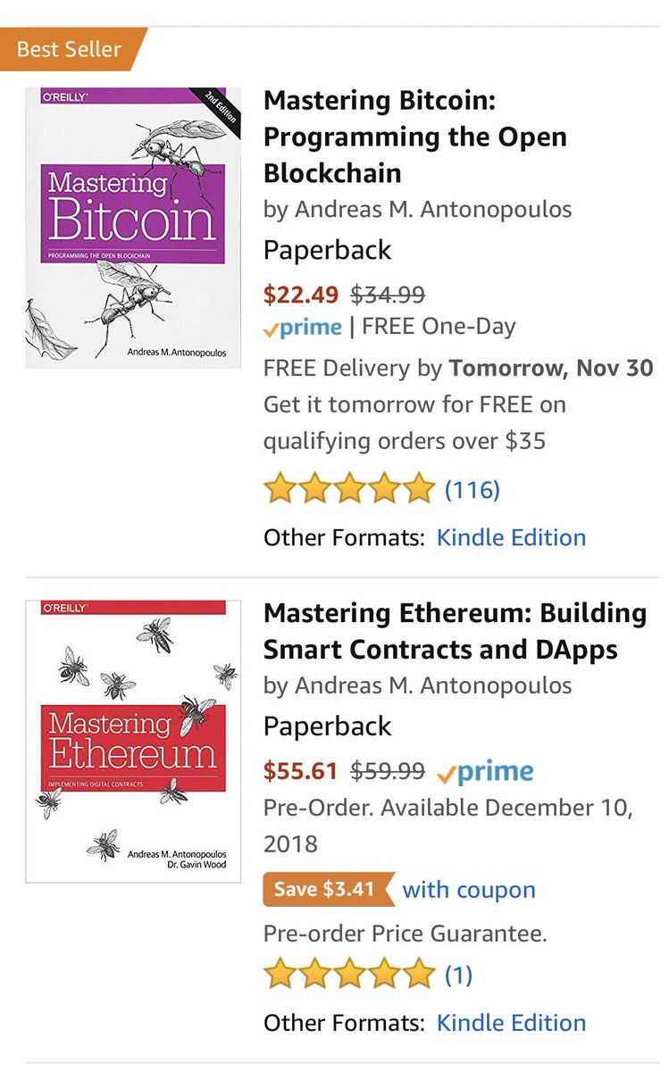 Andreas M Antonopoulos On Twitter It S A New Book And Https T