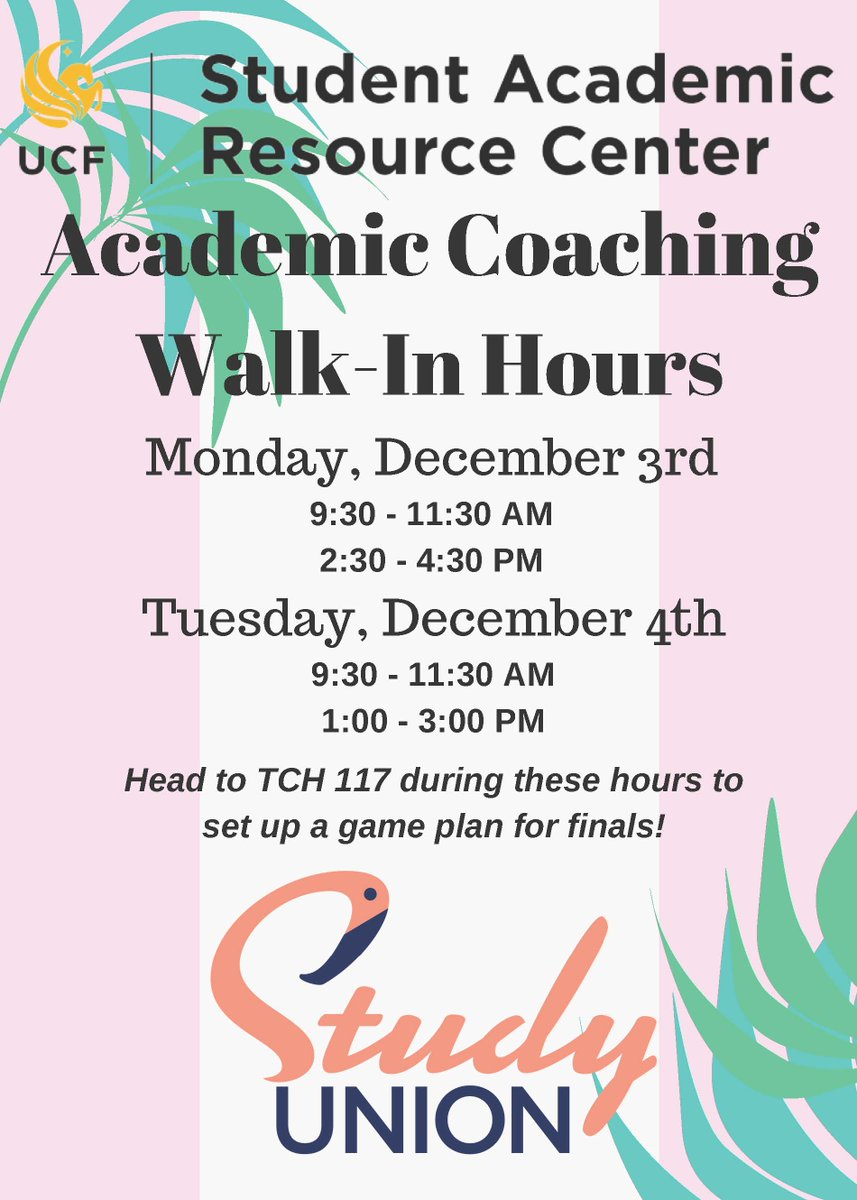 Academic Coaching In Action >> Ucf Career Services On Twitter Need Help With Your Finals