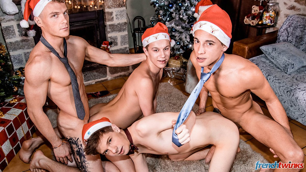 An amazing orgy with double penetration and four amazing facial cumshots  https://www