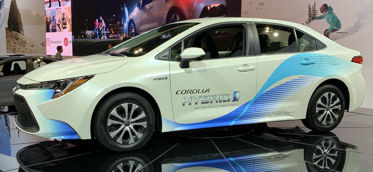 The Car Chat On Twitter The 2020 Toyota Corolla Hybrid Is The