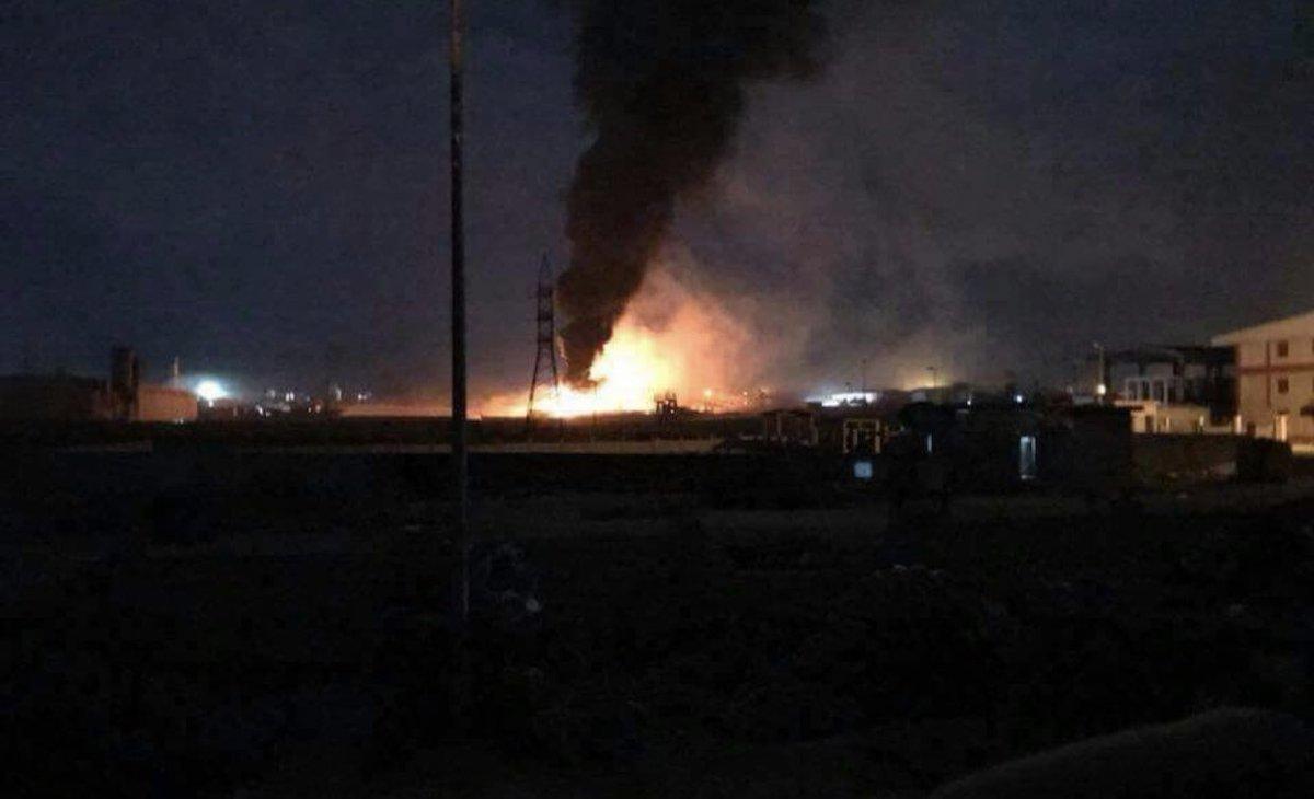Сводки из Сирии. Израиль нанёс ракетно-бомбовые удары в районе Дамаска