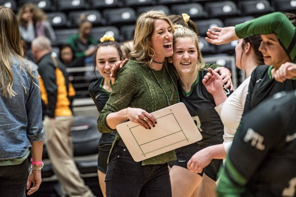"""If they know you love them and know you care about them, and on top of that, know that you believe in them ... you set yourself up for success."" #txhsvb  Full story on @BoydLadyJackets coach Dusty Crafton being named TGCA Class 1A-4A Coach of the Year: http://www.wcmessenger.com/2018/sports/boyds-crafton-named-tgca-coach-of-the-year/ …"