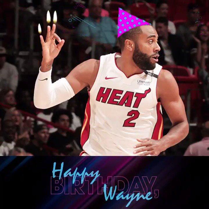 💨Blow 'em out, @WayneElli22! It's ya birthday!  #HBDWayne 👌