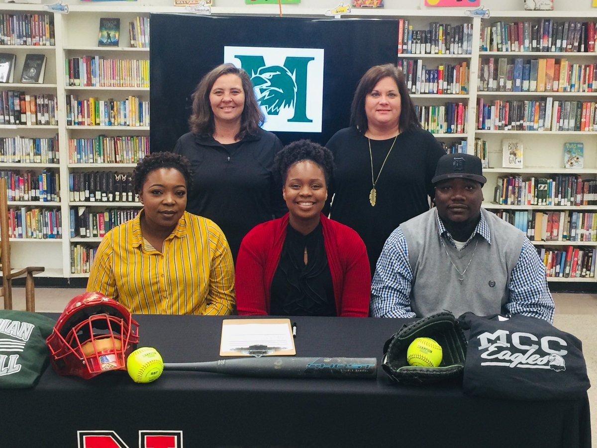 Congrats Princess Welch for signing to play Fastpitch with Meridian Community College