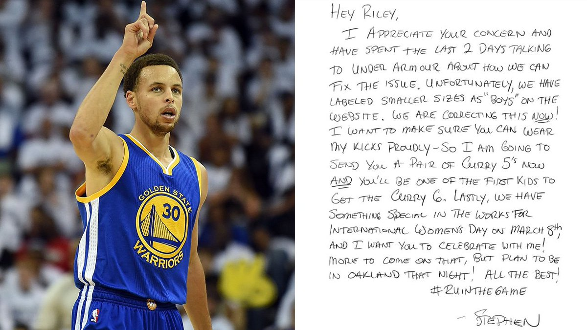 Golden State Warriors Superstar StephenCurry30 Had The Perfect Response When A Little Girl Asked