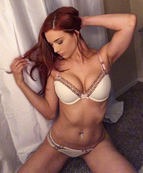 Just post this bra & panty set up on https://t.co/Vwj3G9ZlEq 💕✨ #sexy #redhair #fitgirl #gratefulredtour
