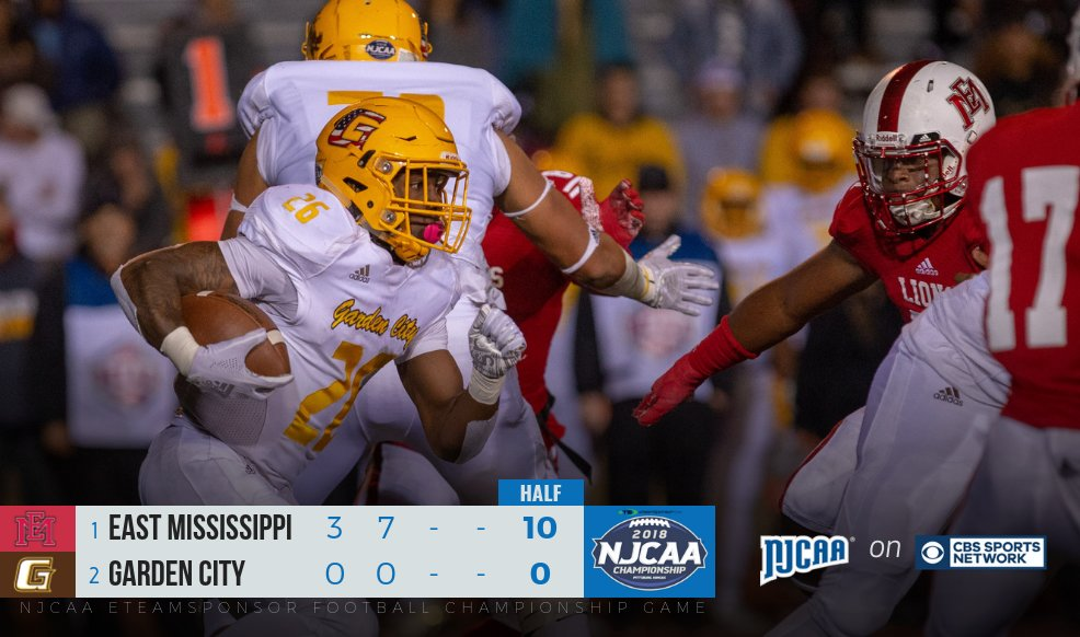 Njcaa Football On Twitter We Re Halfway To Time At The 2018