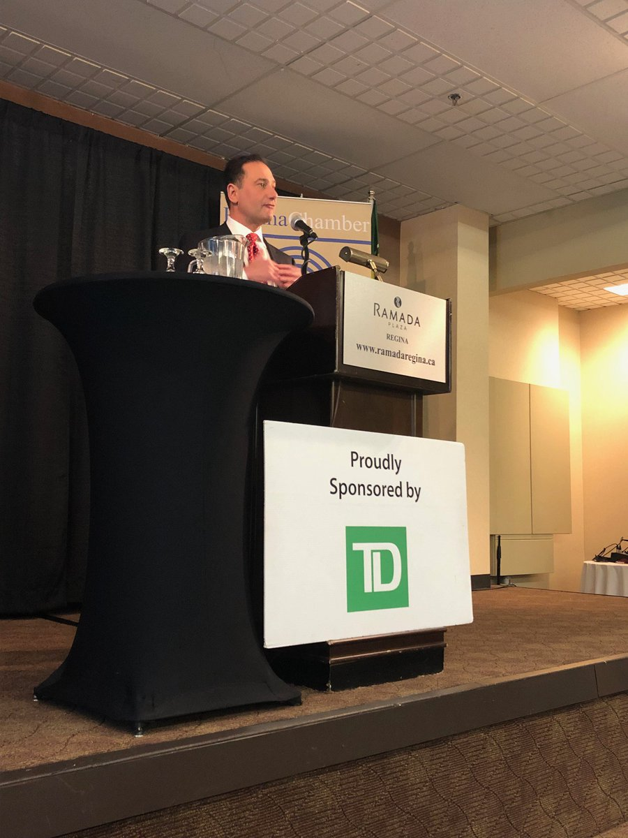 test Twitter Media - Earlier today @RobertGhiz spoke at a @ReginaChamber luncheon, discussing how the #5G revolution will drive innovation and create jobs, and what this will mean for Saskatchewan. #CdnWireless https://t.co/sUEa5G56af