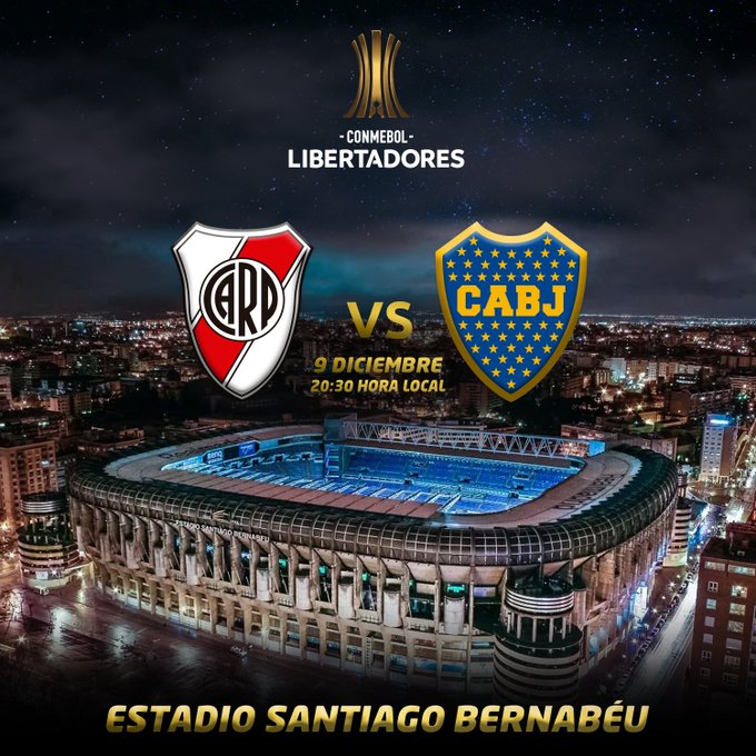 El Santiago Bernabéu, sede de la final de la Libertadores DtNGcn8WoAAnSE0?format=jpg&name=small