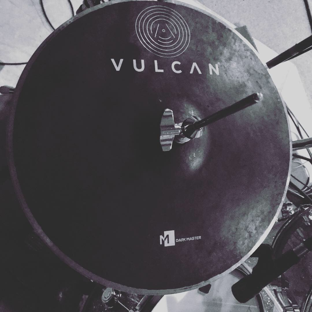 Day 3 in the recording studio, these tunes are sounding really GOOD! The Vulcan Cymbals are a complete dream to record, this session is totally happening! X @dwdrums @remopercussion @CYMPAD_USA @MusicShipping @vicfirth @hardcase_drums @bopworks @Roland_UK @NamStudiosWilts