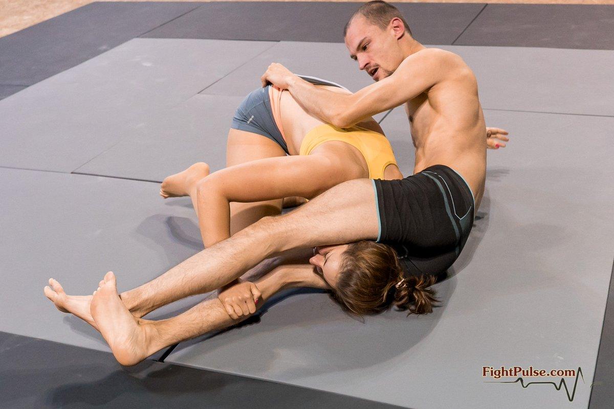 Idea Mixed wrestling reverse scissors domination 2 remarkable, rather
