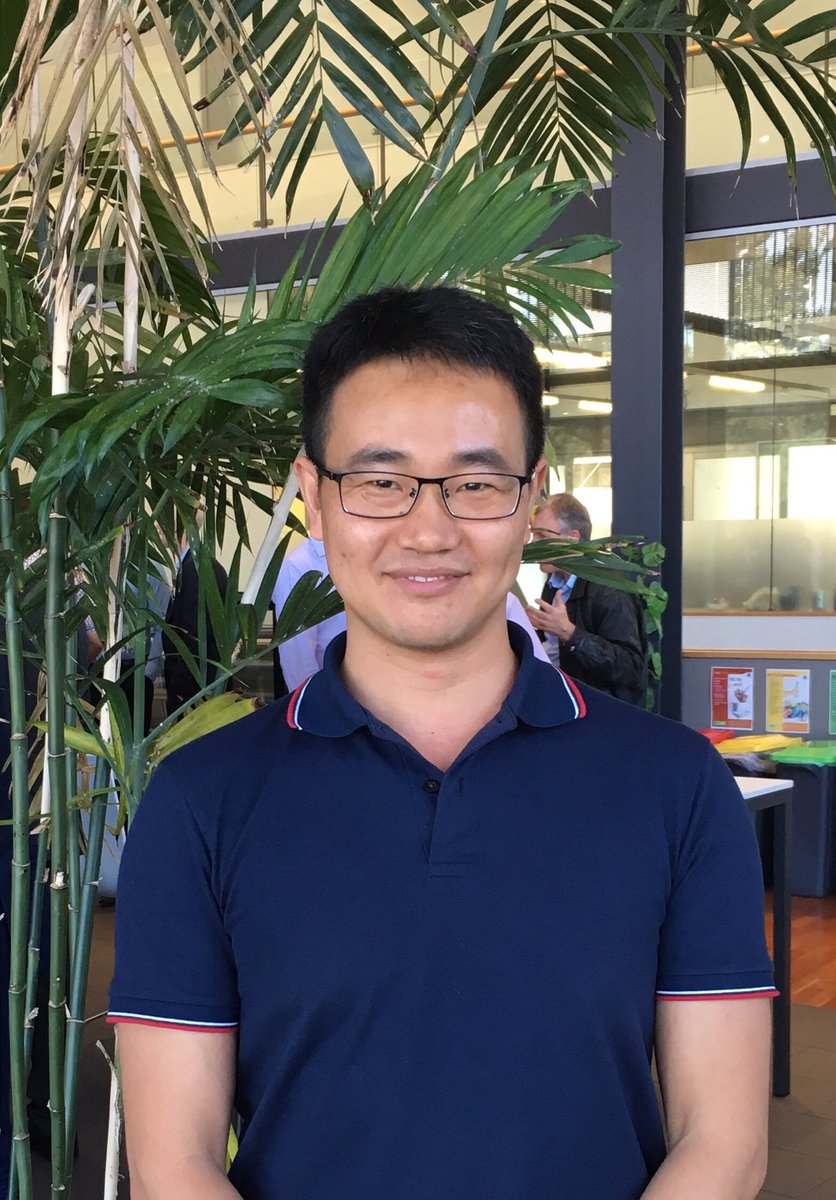 Today we say goodbye to Zhikao Li as he heads off to his new role with Citic Pacific Mining - congratulations - stay in touch @aclngf @arc_gov_au