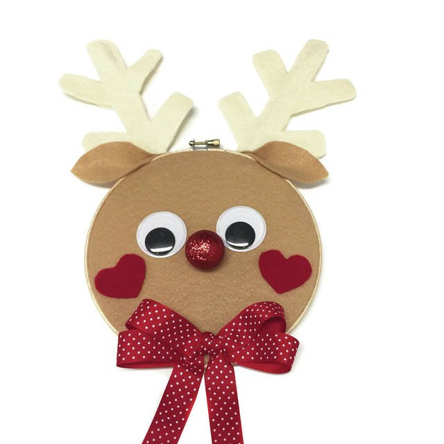 Keiki Krafting: Reindeer Card Holder https://t.co/jg7AD4lgrN #hawaii #keikikrafting #DIY #crafts