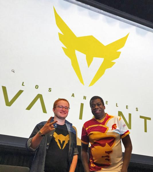 THAT'S @NWhinston!!! Thanks for being an amazing guest speaker! 😊 #LAValiant #Immortals https://t.co/mkoo9bqIdh.